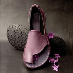 Shoespie Large Size Clip Toe Flat Sandals