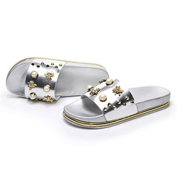 Shoespie Rivet Outdoor Flip Flop PVC Slippers