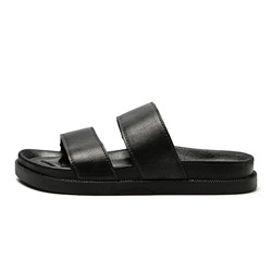 Shoespie Black Men's Casual Sandals