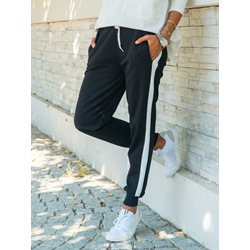 Patchwork Loose Color Block Straight Women's Casual Pants