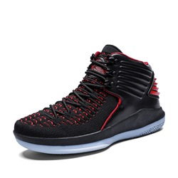 Shoespie High Top Lace-Up Men's Sport Sneakers
