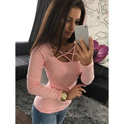 Plain Standard Long Sleeve Spring Women's T-Shirt
