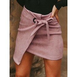 Mini Skirt Lace-Up Bodycon Fashion Women's Skirt