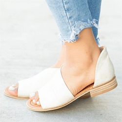 Shoespie Open Toe Flat Casual Sandals