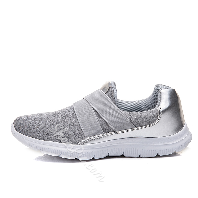 Shoespie Elastic Casual Slip-On Sneakers