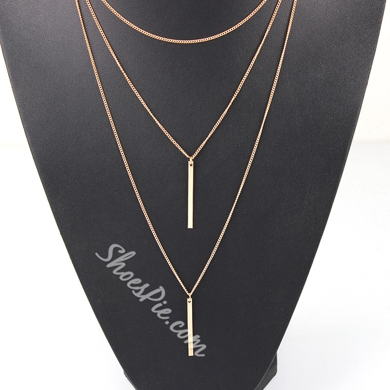 Pendant Necklace E-Plating Vintage Unisex Necklaces