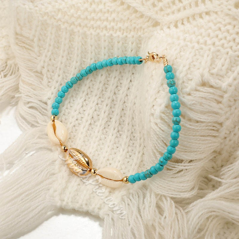 Bohemia Woven Shell Summer Beach Anklets