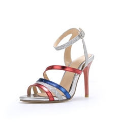 Shoespie Ankle Strap Buckle High Heel Sandals