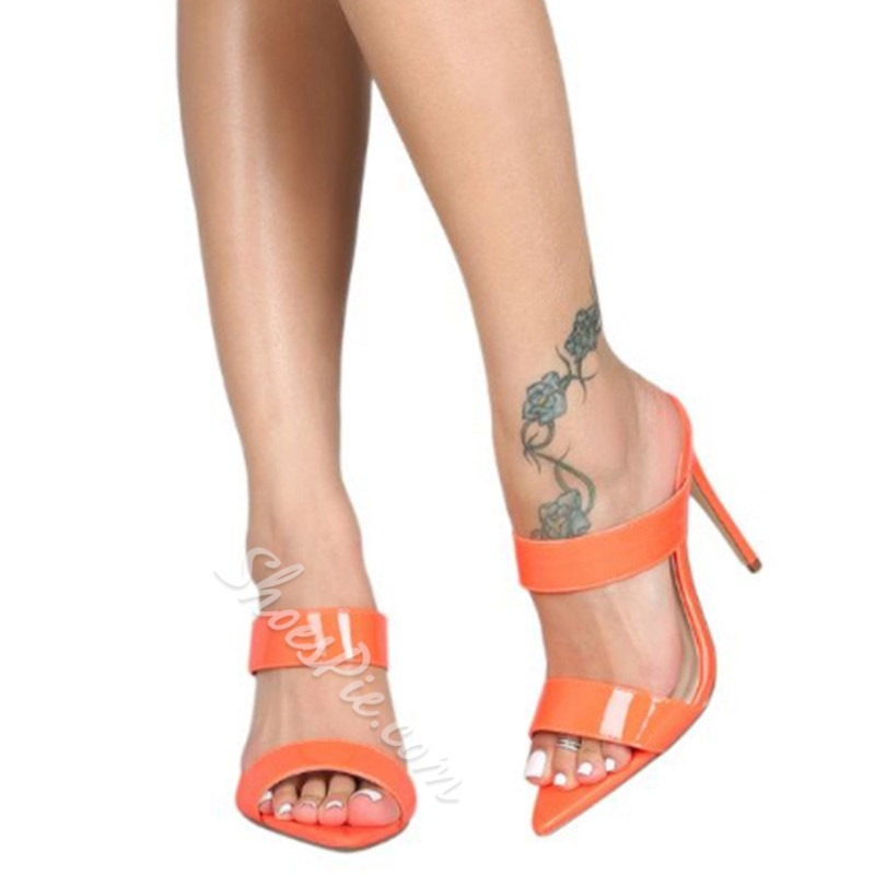 Shoespie Stiletto Heel Casual Slippers