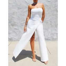 Full Length Sexy Hand Painted Slim Women's Jumpsuit