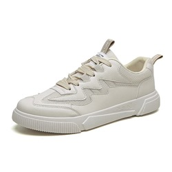 Shoespie White Casual Mesh Men's Sneakers