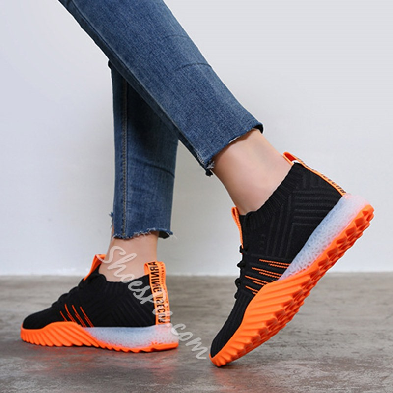 Shoespie Soft Lace-Up Casual Sneakers