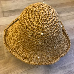 Hollow Korean Straw Hat Plain Hats