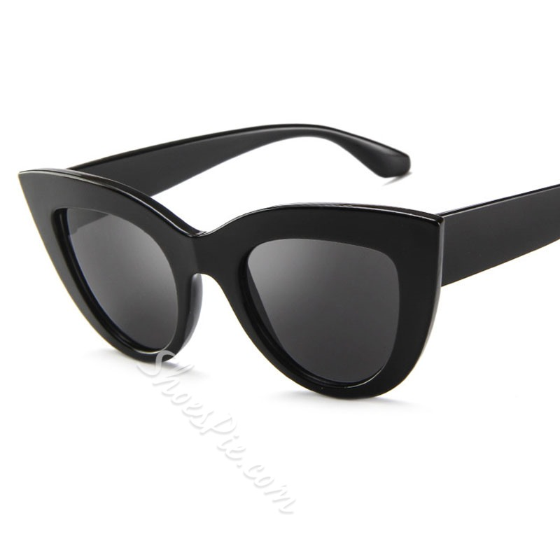 Resin Vintage Cat Eye Sunglasses