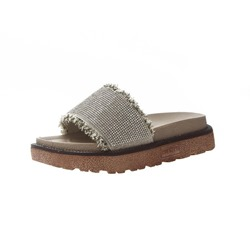 Shoespie Fringe Flat Summer Slippers