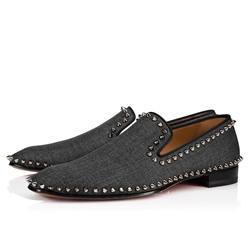 Shoespie Rivet Men's Black Oxford Shoes