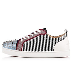 Shoespie Rivet Stripe Flat Men's Skate Shoes