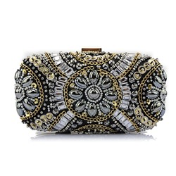Shoespie Banquet Polyester Rectangle Clutches & Evening Bags