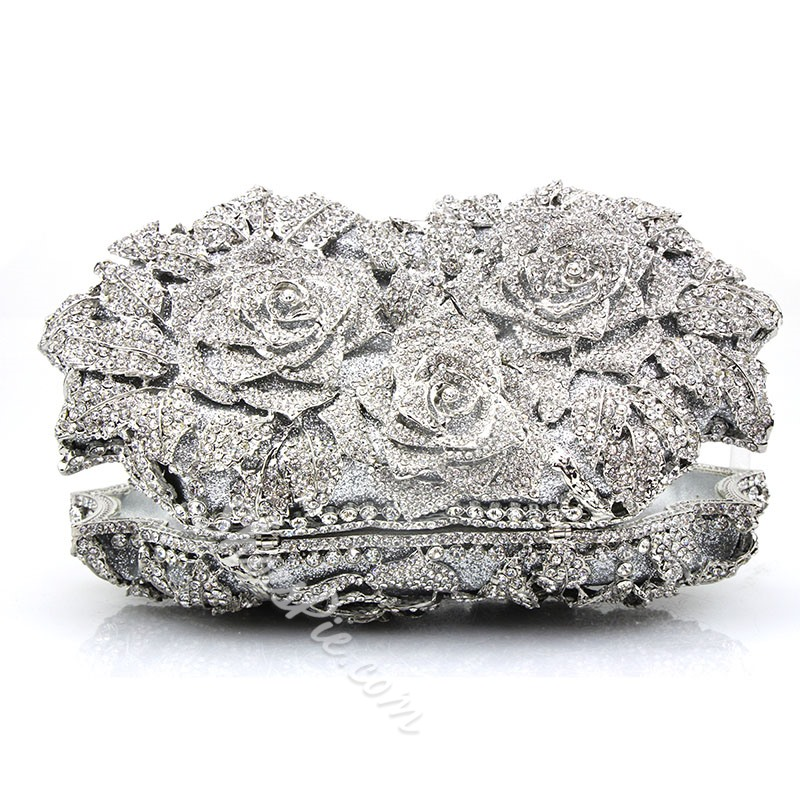 Shoespie Versatile Diamond Hasp Clutches & Evening Bags