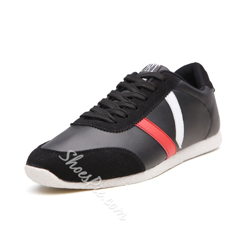 Shoespie Flat Lace-Up Mesh Men's Sneakers