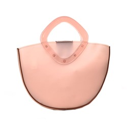 Shoespie PU Thread Plain Saddle Crossbody Bags