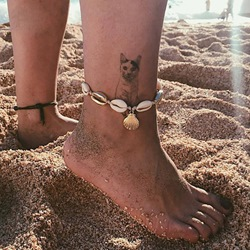 Hot Sale Shell Shape Summer Beach Anklets