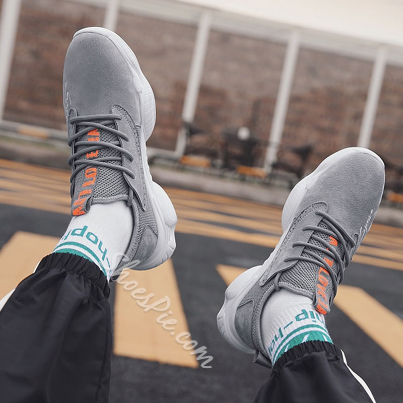 Shoespie Men's Mesh Breathable Sneakers