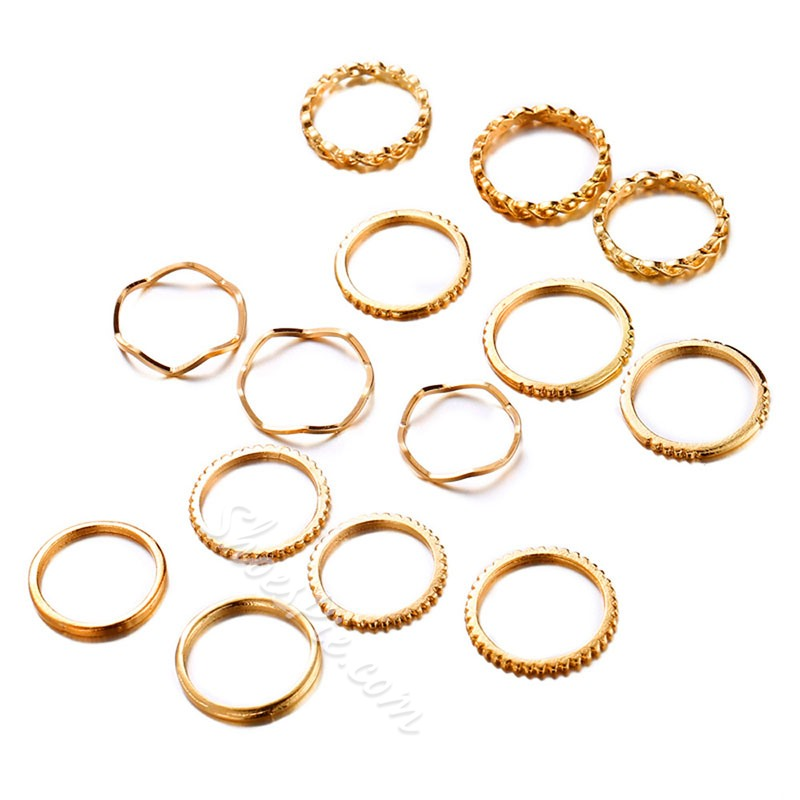 E-Plating Alloy European Party Rings