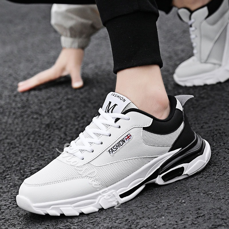 Shoespie Breathable Men's Mesh Sneakers