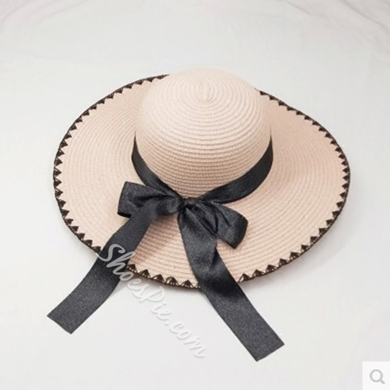 2019 Wide Brim Straw Ladies Summer Beach Sun Hat