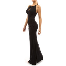 Sleeveless Hollow Round Neck Pullover Women's Maxi Dress