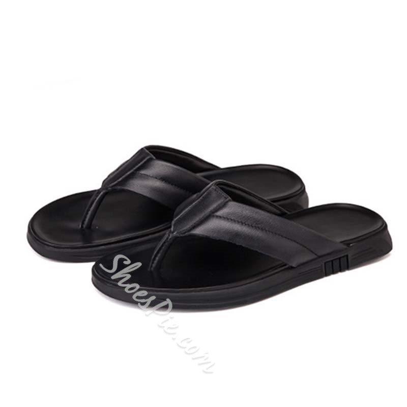 Shoespie Men's Summer Casual Flip Flops