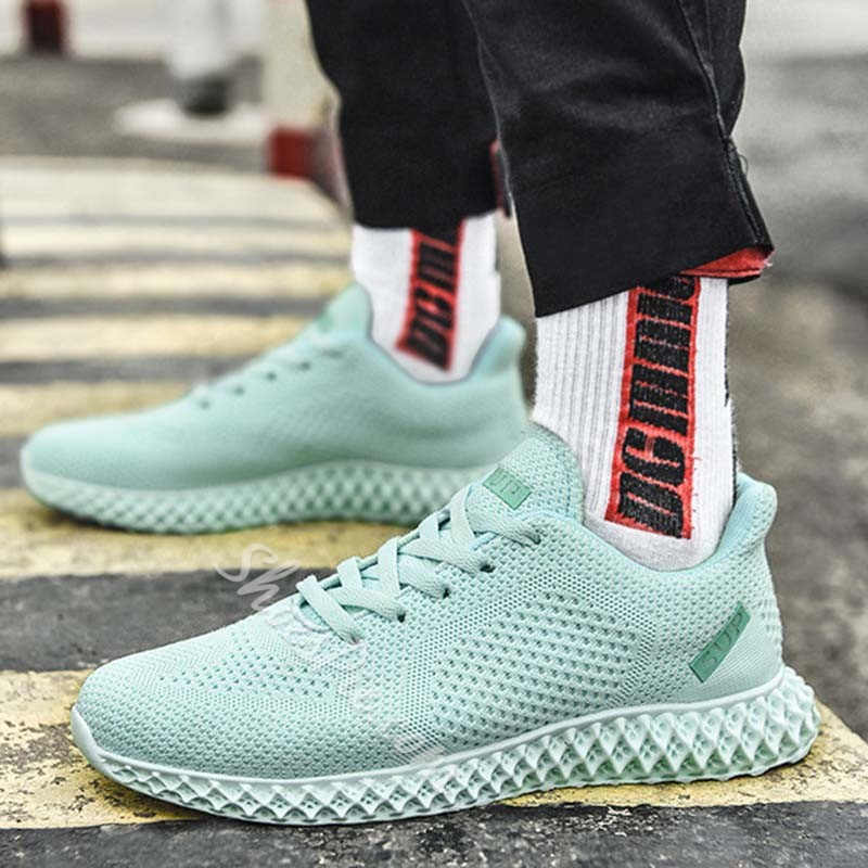 Shoespie Men's Sport Mesh Sneakers