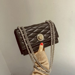 Shoespie PU Quilted Lining Korean Crossbody Bags