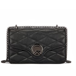 Shoespie Korean Quilted Lining PU Crossbody Bags