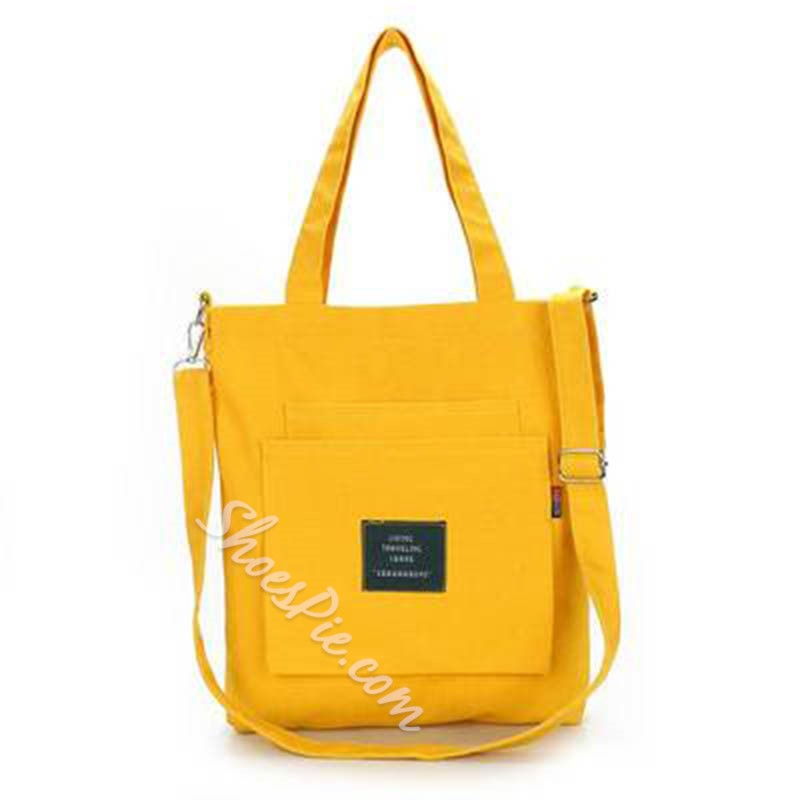 Modern Style Canvas Travel Shoulder Bags