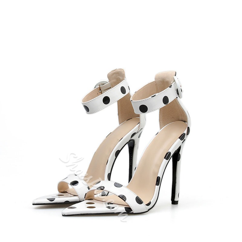 Shoespie Pointed Toe High Heel Sandals