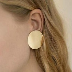 Shiny Sequins E-Plating Alloy Stud Earrings