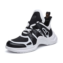Shoespie High Top Lace-Up Sport Sneakers