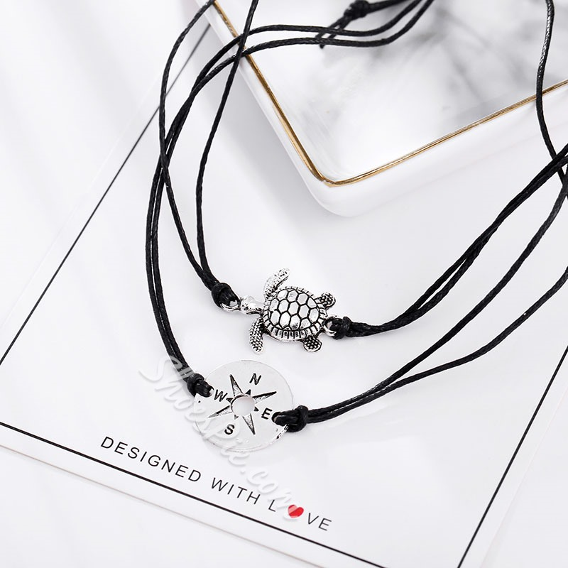 Summer Beach Turtle Anklets For Women