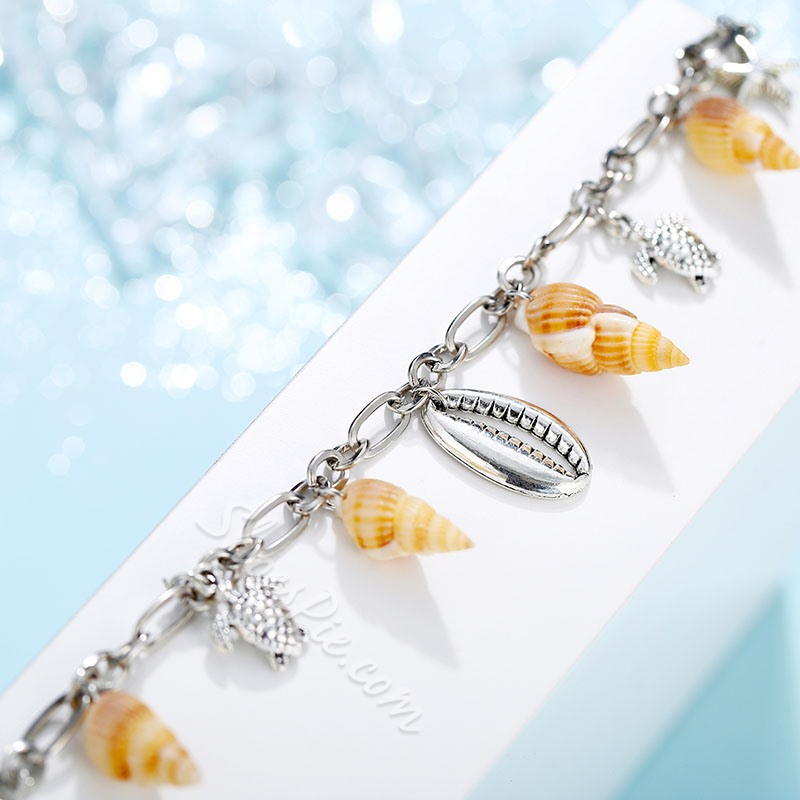 Shell Summer Beach Anklets for Women Foot Jewelry