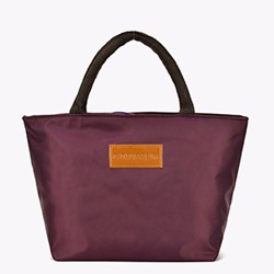 Shoespie Fashion PU Plain Square Tote Bags