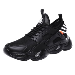 Shoespie Men's Lace-Up Sports Round Toe Sneakers