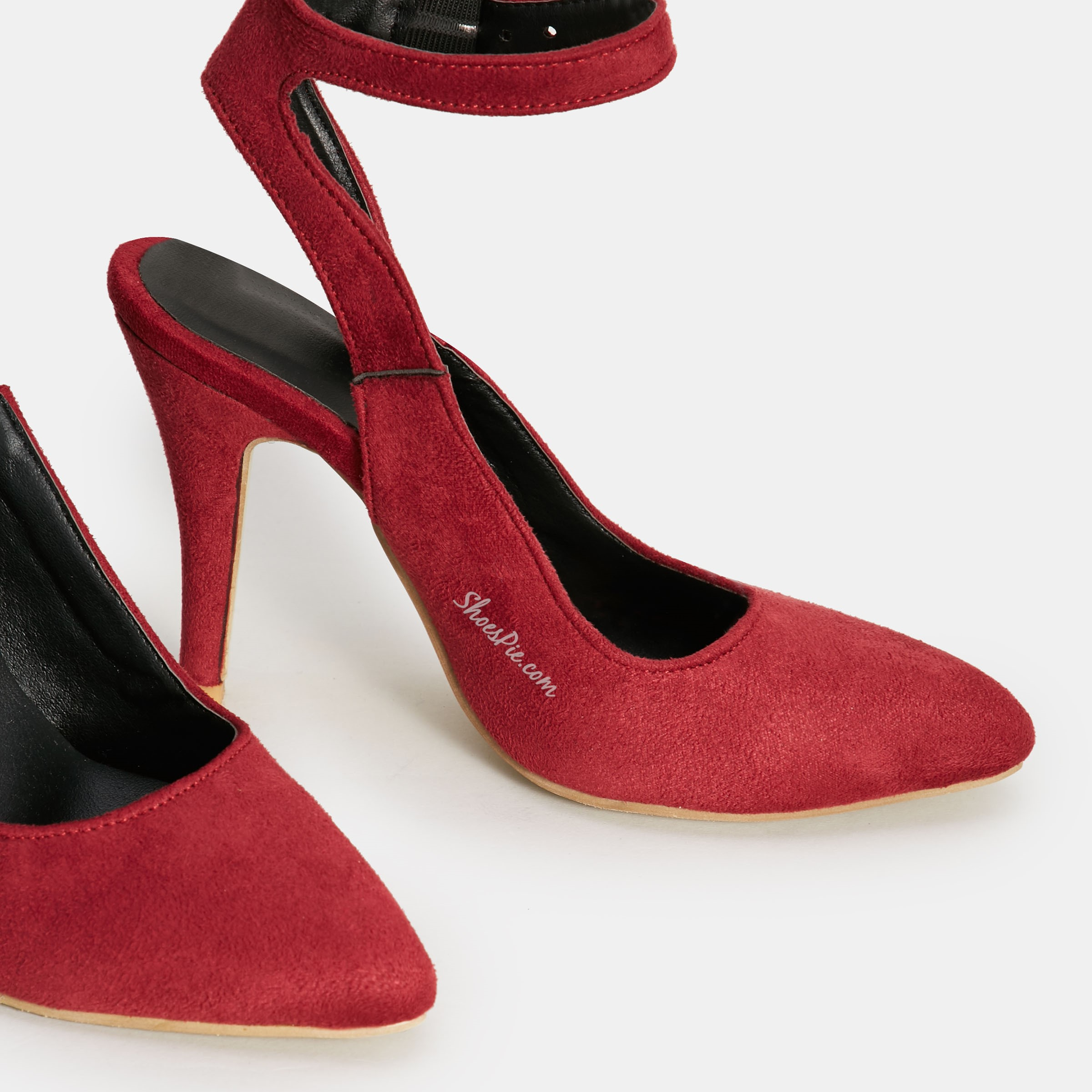 Shoespie Solid Color Slingback Stiletto Heels