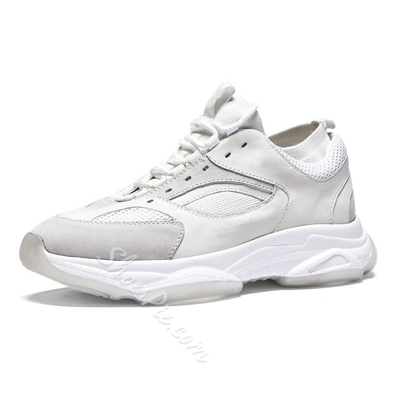 Shoespie Men's Casual Lace Up Sneakers