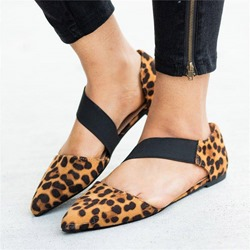 Shoespie Elastic Band Pointed Toe Flats
