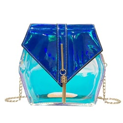 Shoespie Chain PVC Crossbody Bags