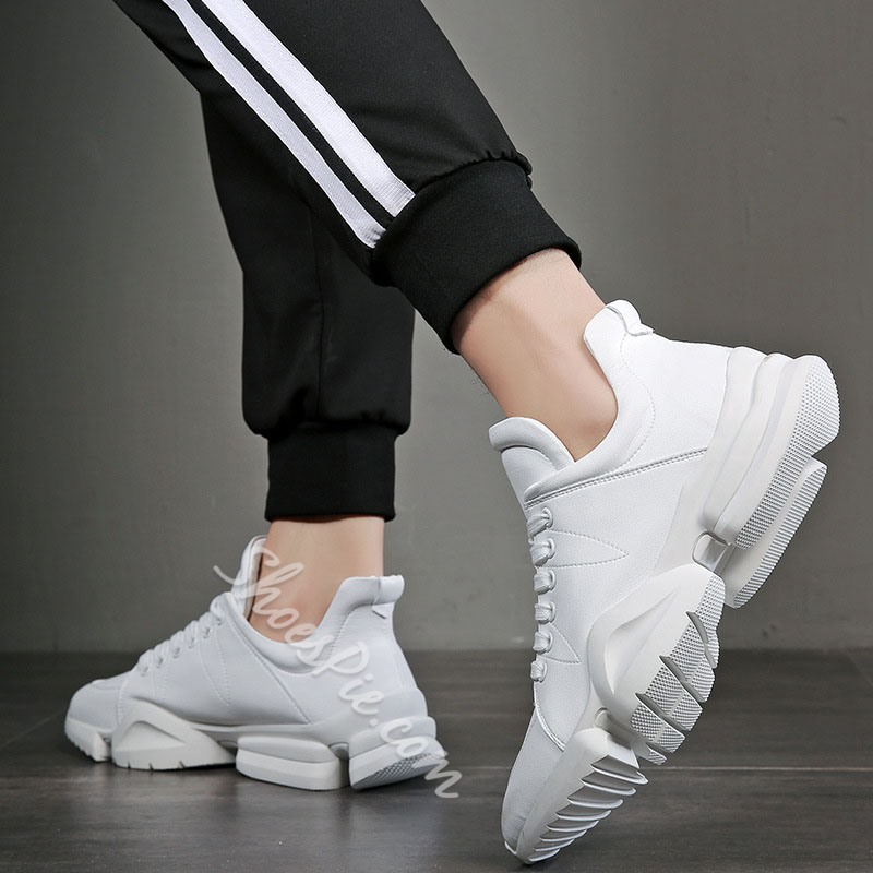 Shoespie Lace-Up Men's Chunky Casual Sneakers