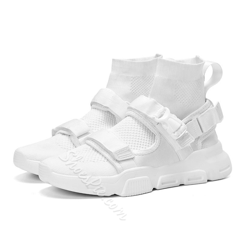 Shoespie Velcro Men's High Top Sneakers
