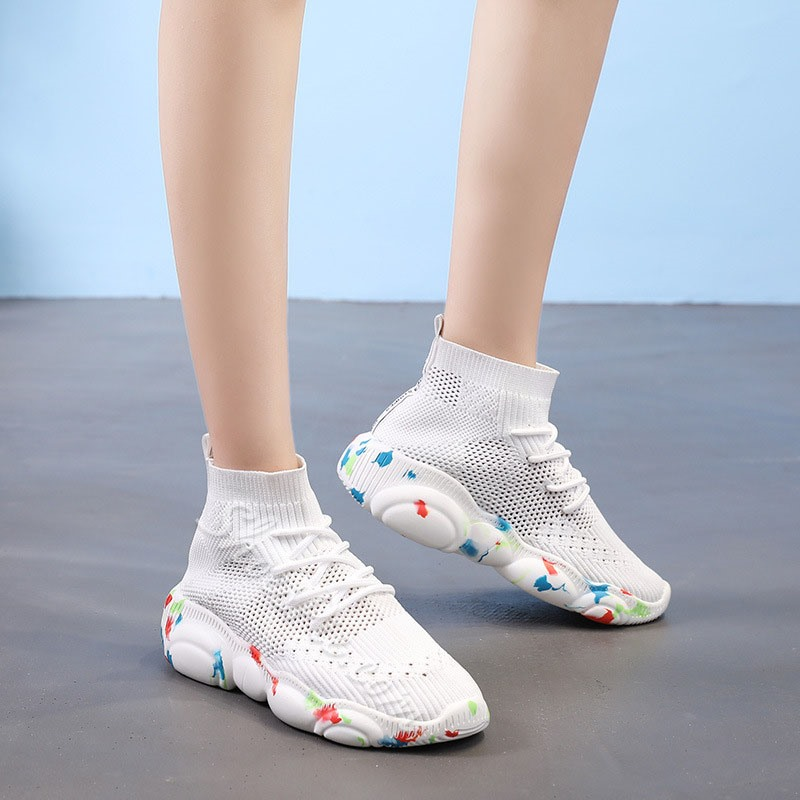 Shoespie High Top Casual Sneakers